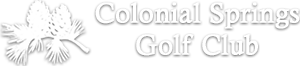 colonial springs golf club logo